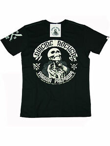 Yakuza-Premium-T-Shirt-Shirt-Suicide-Rockers-Schwarz-YPS-2300-5045