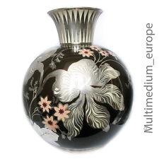 Rosenthal Silber Overlay Porzellan Vase Silber Silver porcelain 1000 Jahrg. 1936