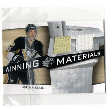 2008 UPPER DECK JORDAN STAAL JERSEY HOCKEY CARD