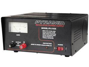 s l300 new pyramid ps21kx (ps 21kx) 20 amp 13 8v constant regulated ac dc