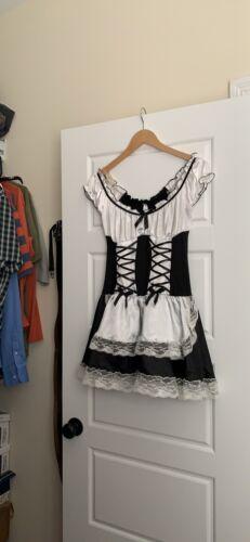 French Maid. Hallowee Costume