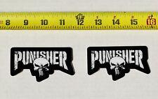 2 Pack Punisher Decal Sticker