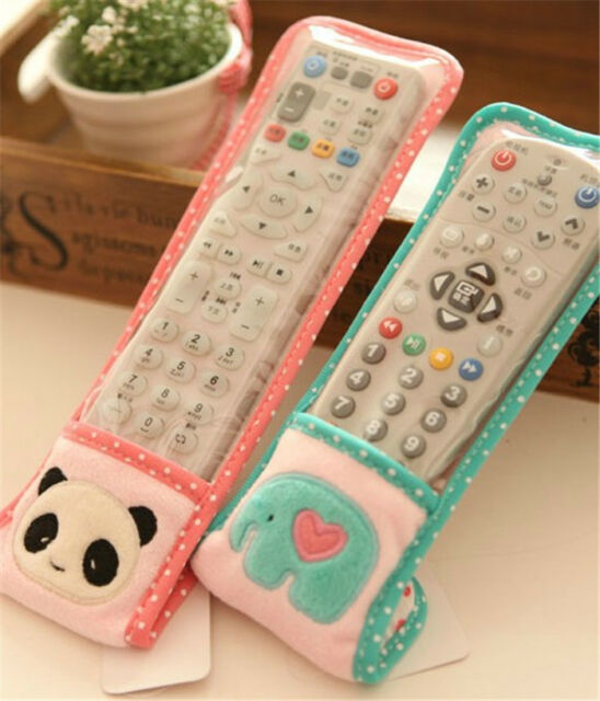 Cartoon Patterned DustProof Cover TV  Conditioning Remote Control ProtectiveAU