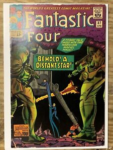 Fantastic Four #37/Silver Age Marvel Comic Book/Skrulls/VG+