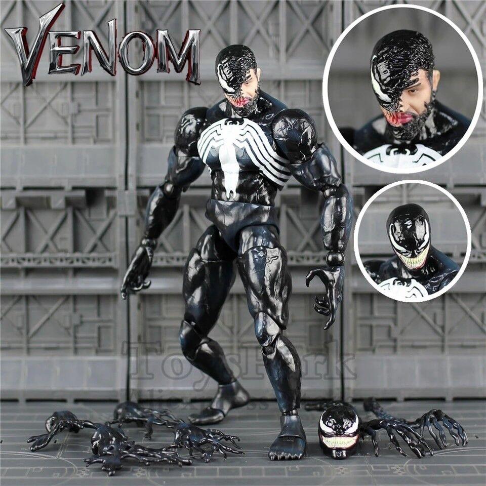 12  Venom Action Figure 1 6 1 6 26 cm HC Jouet Hot Toys Legends Spider Man Modèle