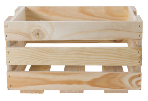 NEW Mini Fruit Crate in Natural Apple Crates Wooden Boxes Wooden Boxes Crates 1,3,9