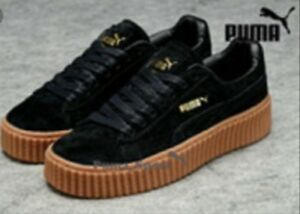 official photos 72aa8 64147 Details about PUMA X, RIHANNA SUEDE FENTY CREEPER Shoes women platform sport