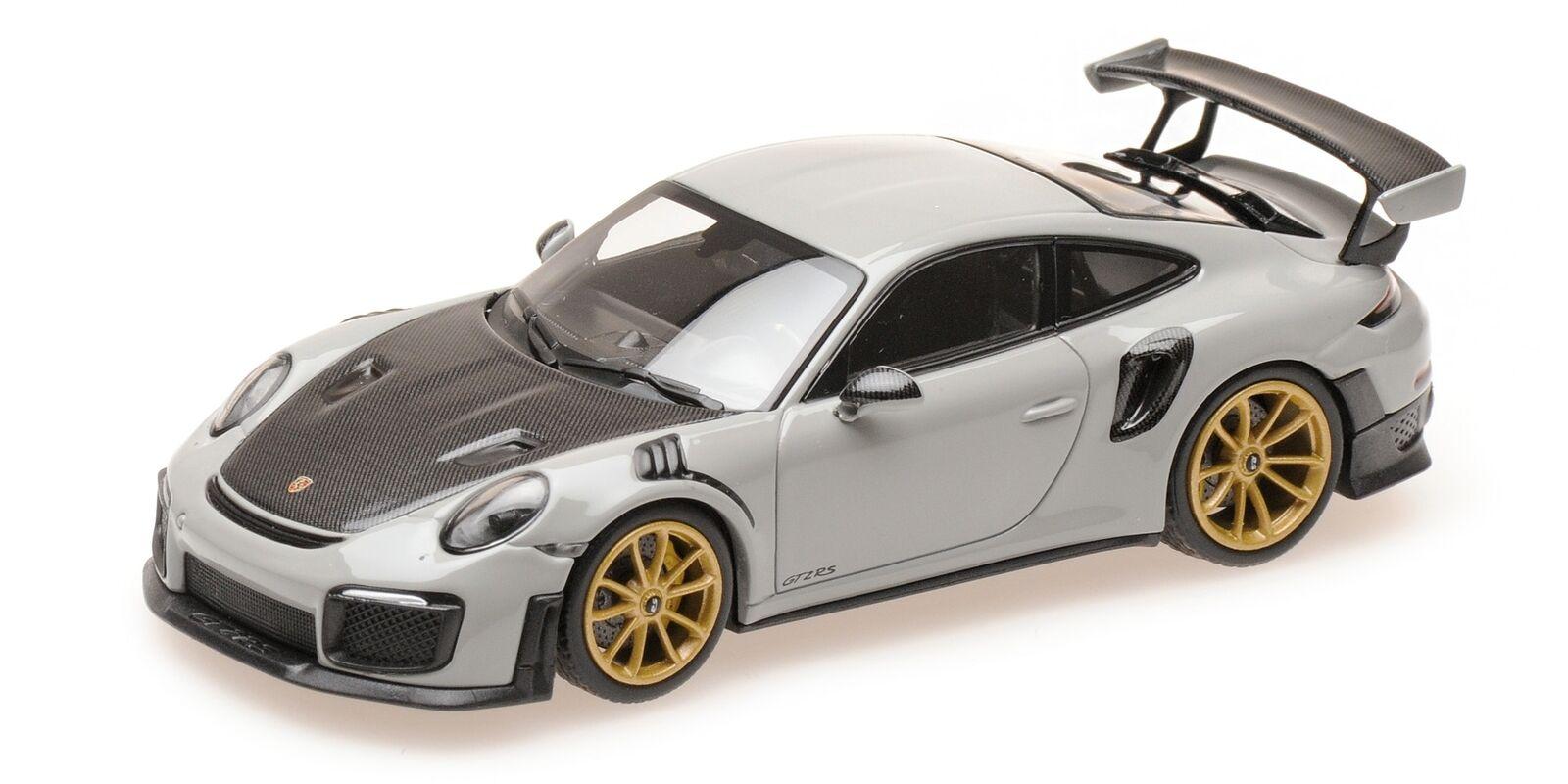Porsche 911 Gt2 Rs 991.2 Kreide 2018 MINICHAMPS 1:43 410067226