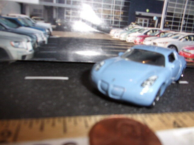 Matchbox Azul Pontiac Solstice coche escala 1 54 - Loose Loose Loose  0cac82