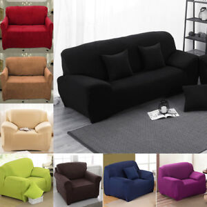 Image Is Loading 1 2 3 4 Sofa Couch Slipcover Stretch