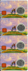 1999-CANADA-Millennium-Series-25-CENTS-JULY-Nation-of-People-4-Cards