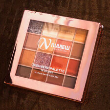 NUVIEW Matte Shimmer PRO 16 Colors Glitter Eyeshadow Smoky Palette Makeup