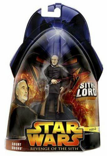 Star Wars Revenge of the Sith Count Dooku Sith Lord 4 1 2  Action Figure