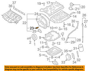 VW VOLKSWAGEN OEM 09-17 Tiguan Engine Parts-Timing Cover Bolt 06J103831 |  eBayeBay