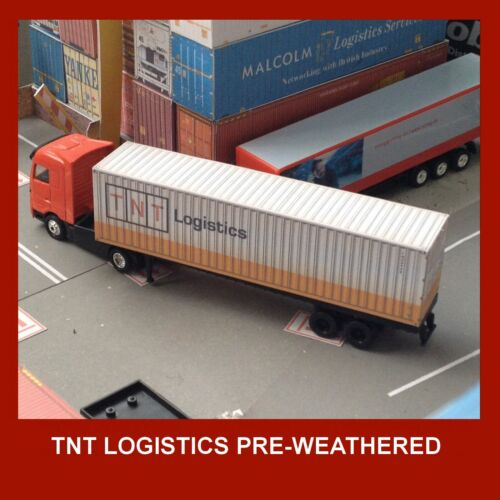 HO 1:87 Allied TNT DHL UPS Shipping Containers 48 /& 53ft x 12 Fed-Ex