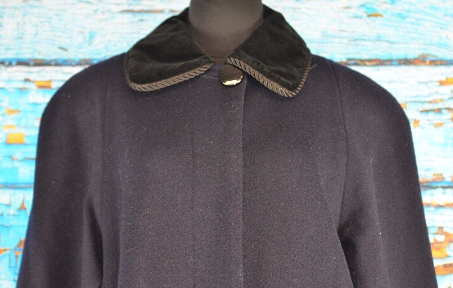 Halston Women's Overcoat Size 6 Wool USA Warm NEW  Coat Winter