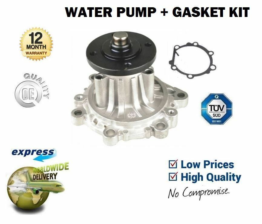 Für Toyota Hiace 2.4d Power Van Hilux 2.4td 2.8d Neue Wasserpumpe + Dichtung