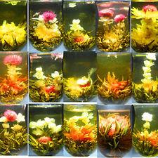 16 KINDS Chinese Art BLOOMING FLOWER FLOWERING JASMINE GREEN TEA BALL