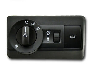new oem ford 2006 2009 ford fusion headlight switch w fog. Black Bedroom Furniture Sets. Home Design Ideas