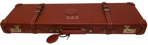 "GDK GUARDIAN cuoio conciato Shotgun Caso 26-32/"" Canna Fucile Custodia causa 165SL"