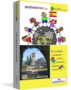 Spanisch  für Kinder Spanisch Lernen CD ROM  Sprachkurs Kinderkurs Espanol!!!