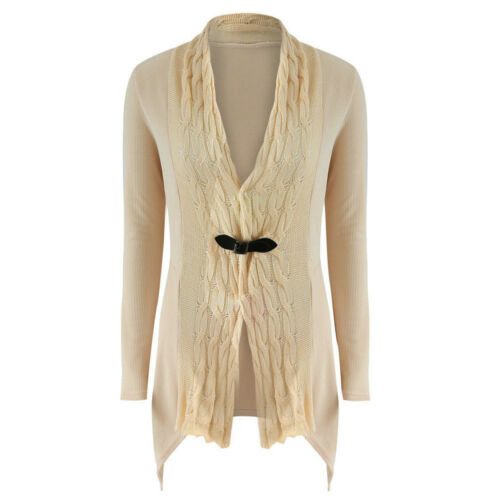 Women Knitted Sweater Slim Casual Cardigan Knitwear Jumper Outwear Coat Jacket