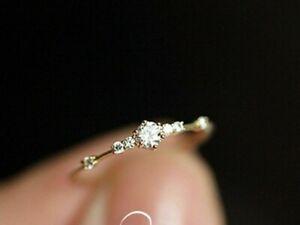 Women-Ring-Finger-Jewelry-Rose-Gold-Sliver-Gold-Rhinestone-Crystal-Rings-Metal