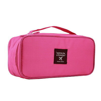 Portable Protect Bra Underwear Lingerie Case Travel Organizer Bag Waterproof FE