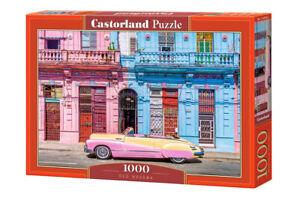 Castorland C-104550-2 - Old Havana, Puzzle 1000 Pieces - New
