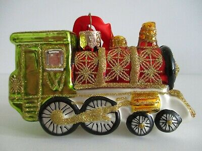 Waterford MARQUIS BLOWN GLASS ORNAMENTS Christmas Eve Santa 9030107