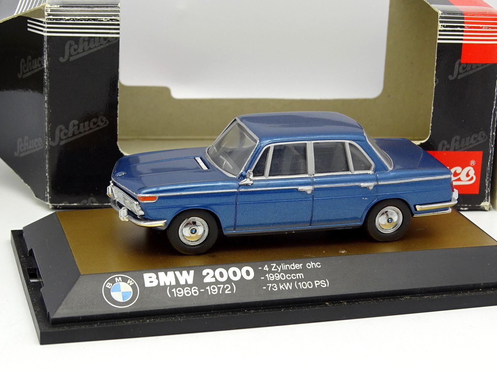 Schuco 1 43 - BMW 2000 bluee
