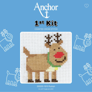 Anchor-1st-Kit-Rudolph-10010-Counted-Cross-Stitch