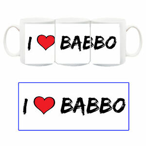 Speciale-Festa-del-Papa-I-love-Babbo-Tazza-Ceramica-Mug-Cup-Idea-Regalo-19-Marzo