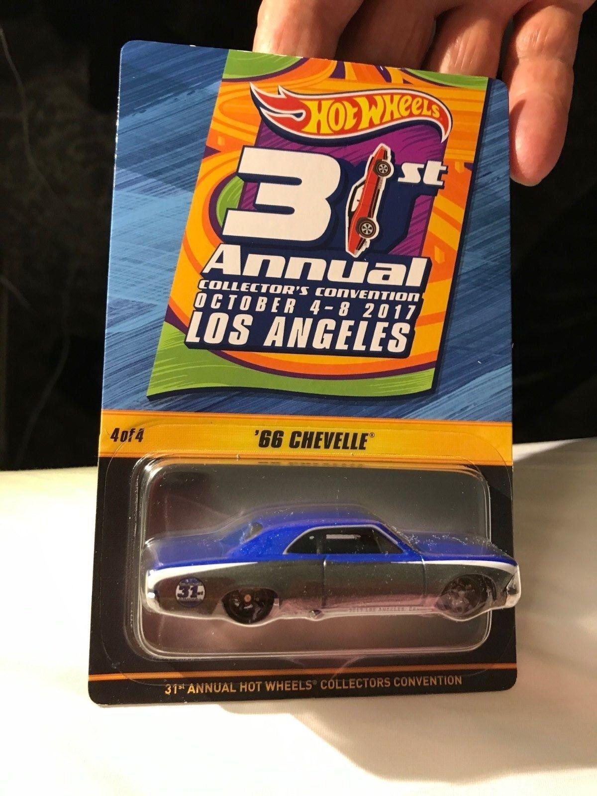 2017 Hot Wheels 31st Convention LA  4 FINALE 66 Chevelle 1 of 1400