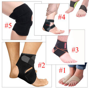 848c5d0e1e Knee Ankle Arch Flat Foot Support Strap Brace Sports Injury Pain ...