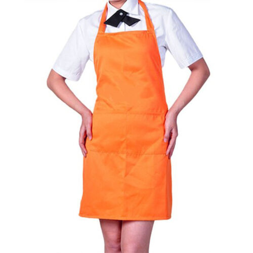 Apron with Front Pocket  Chefs Butcher Kitchen Cooking Baking Craft Tabliers FP