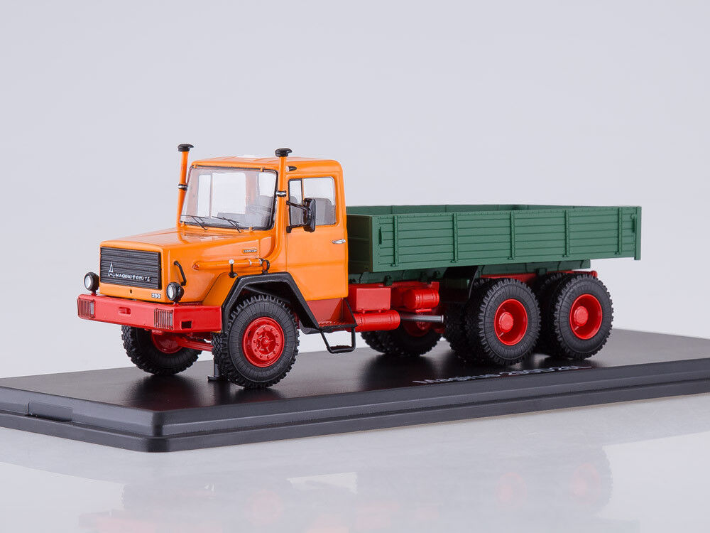 mejor vendido Modelo de escala camión camión camión 1 43 Magirus 290D26L integrado  calidad oficial