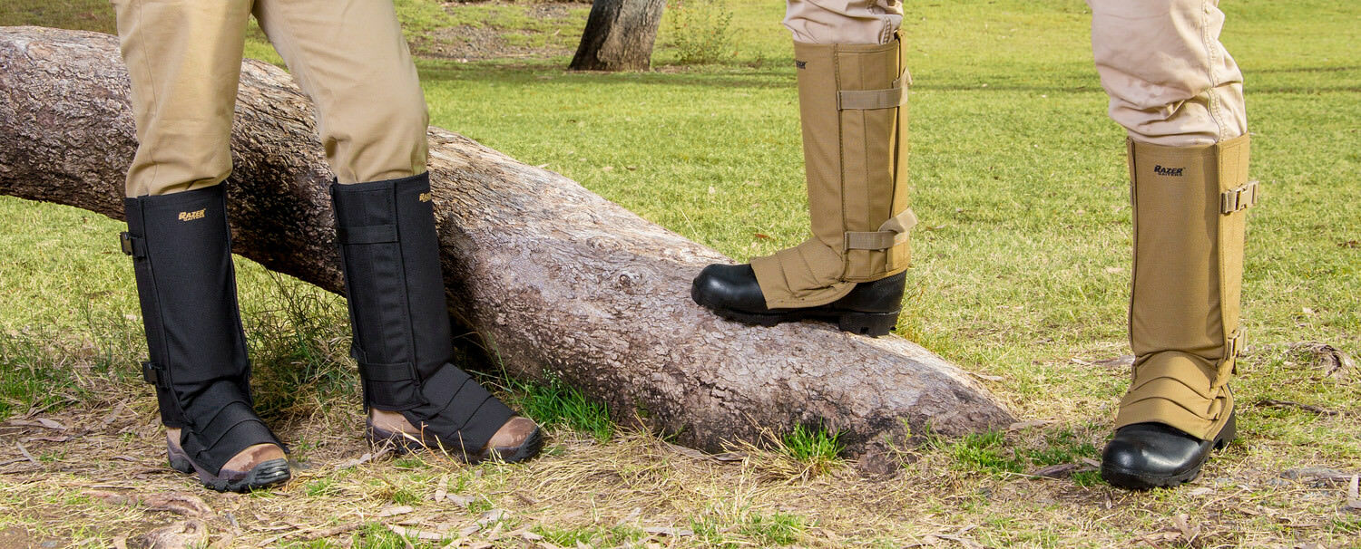 Snake Gaiters with Bite Storage Bag - Snake Bite with Protection for Niedriger Legs - Camo de8c56