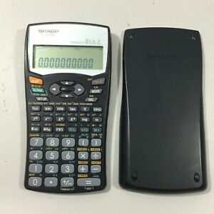 Sharp-EL-531WH-Advanced-D-A-L-Scientific-Calculator-With-Cover-Works-Perfect