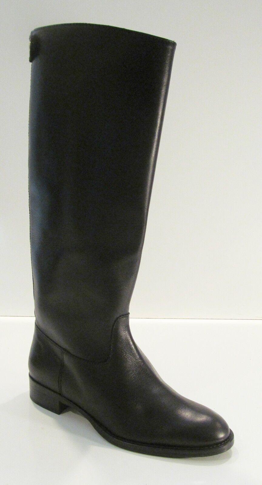 J Crew Field Boots 9.5 Black