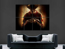 FREDDY KRUEGER NIGHTMARE ON ELM STREET GIANT WALL POSTER ART  PRINT LARGE HUGE