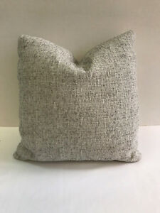 Image Is Loading Grey Cream Tweed Robert Allen Fabric 16x16 034