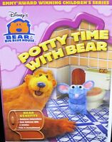 Disney Bear In The Big Blue House Potty Time With Bear Dvd Bathroom ,teach