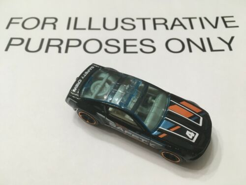 2020 Hot Wheels MYSTERY MODELS Series 1 FORD MUSTANG GT CONCEPT Safety Car
