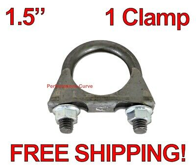 """2.50/"""" ID//OD Exhaust Tubing Adapter Extension 16.5/"""" Long"""