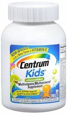 Centrum Kids Chewable Tablets 80 Tablets (Pack of 3)
