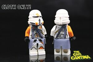 Lego Star Wars Minifigure 212th Airborne Clone Trooper 75036 w// Blaster