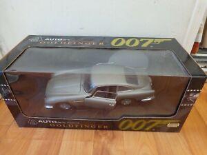 Selten Autoart 1 18 Aston Martin Db5 Goldfinger James Bond 007 Auto 70020 Boxed Ebay