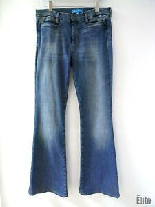 Mih-Jeans-Blue-Denim-High-Rise-Kick-Flare-Jeans-Size-30-2337-65M