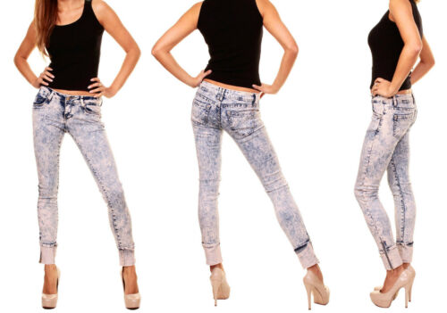 32-40 Daisy Turn Up Jeans marmo JEANS TG